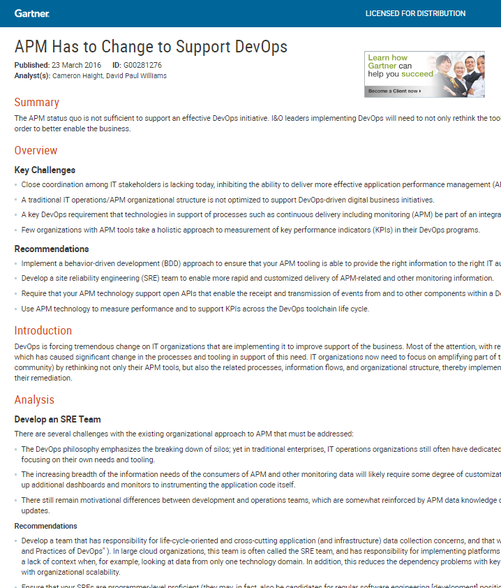APM Has to Change to Support DevOps