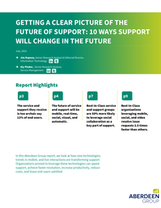 Getting a Clear Picture of the Future of Support: 10 Ways Support Will Change in the Future