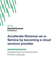 Accelerate Revenue-as-a-Service by Becoming a Cloud Services Provider