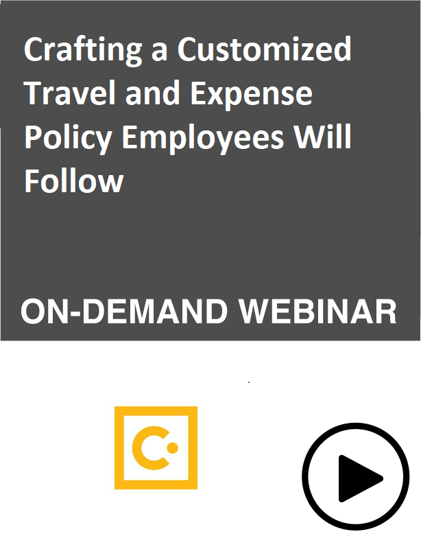 Crafting a Customized Travel and Expense Policy Employees Will Follow