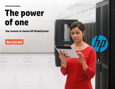 The Power of One: Top Reasons to Choose HP BladeSystem  eBook