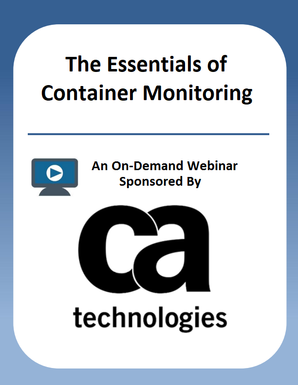 The Essentials of Container Monitoring