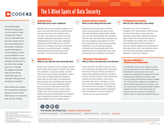 The 5 Blind Spots of Data Security