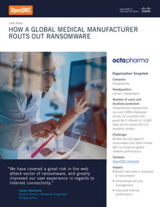 Case Study: How a Global Medical Manufacturer Routs Out Ransomware