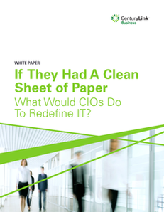 What Would CIOs do to Redefine IT