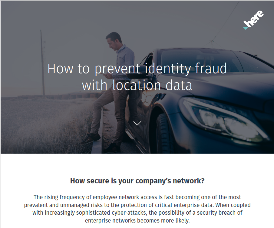 How to prevent identity fraud with location intelligence