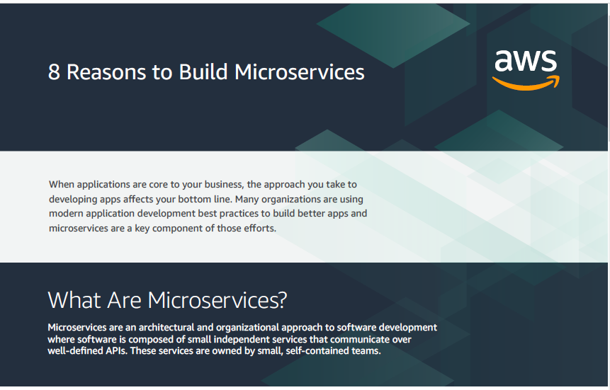 8 Reasons to Build Microservices