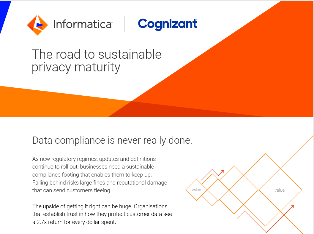 The road to sustainable privacy maturity