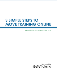 3 Simple Steps Moving Training Online