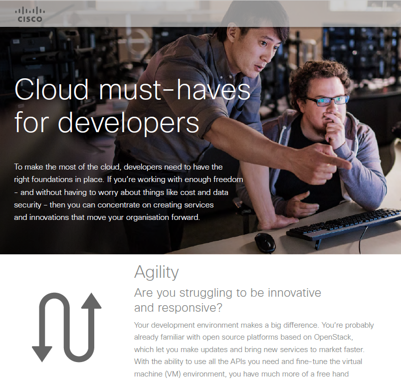 Cloud Must-Haves for Developers