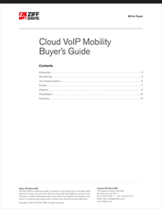 VoIP Mobility Buyer's Guide