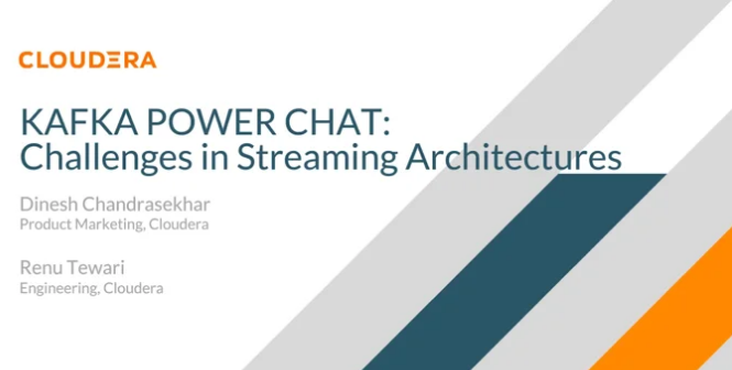 Kafka Power Chat: Challenges in Streaming Architectures