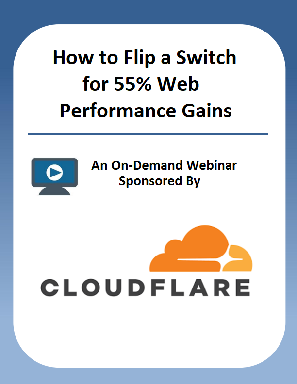 How to Flip a Switch for 55% Web Performance Gains