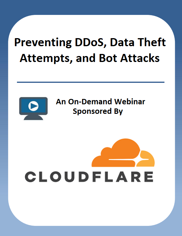 Preventing DDoS, Data Theft Attempts, and Bot Attacks