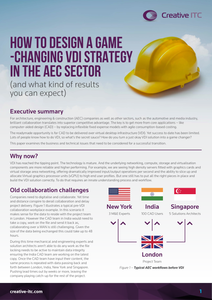 How to Design a Game-Changing VDI Strategy in the AEC Sector