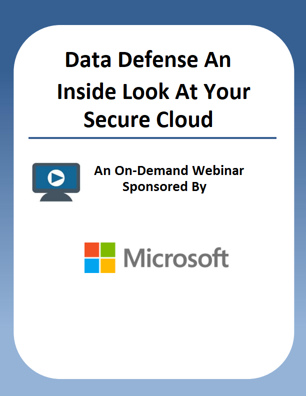 Data Defense: An Inside Look at Your Secure Cloud