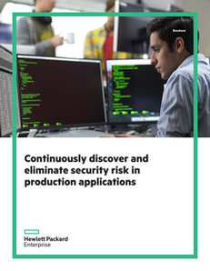 Continuously Discover and Eliminate Security Risk in Production Applications
