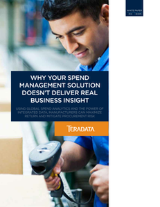 Why Your Spend Management Solution Doesn't Deliver Real Business Insight