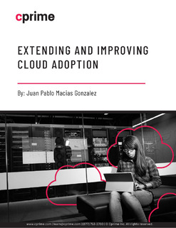 Extending and Improving Cloud Adoption