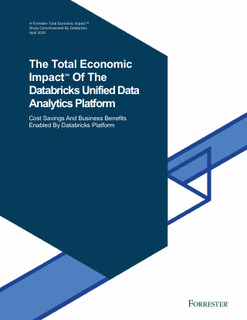 New Forrester Total Economic Impact™ Study