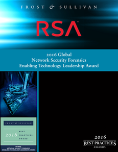 Frost & Sullivan Best Practices Research: Network Security Forensics