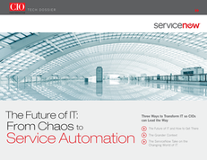 The Future of IT  From Chaos to Service Automation