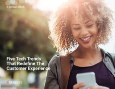 eBook: Five Tech Trends Redefining the Customer Experience
