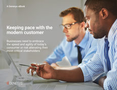 eBook: Keeping Pace With The Modern Customer