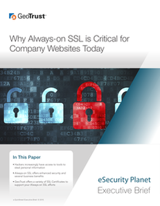 Why Always-on SSL is Critical for Company Websites Today