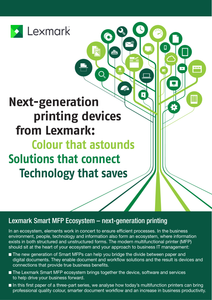 Next-Generation Printing Devices from Lexmark