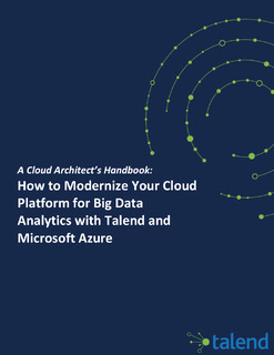 How to Modernize Your Cloud Platform for Big Data Analytics with Talend and Microsoft Azure