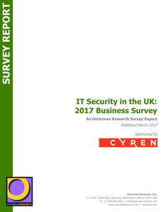 IT Security in the UK: 2017 Business Survey