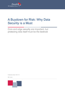 A Buydown for Risk: Why Data Security is a Must