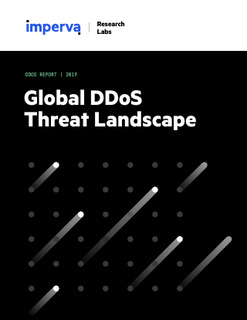 2019 Global DDoS Threat Landscape Report