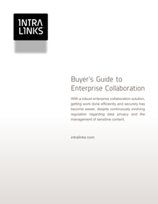 A Buyer's Guide to Enterprise Collaboration Solutions