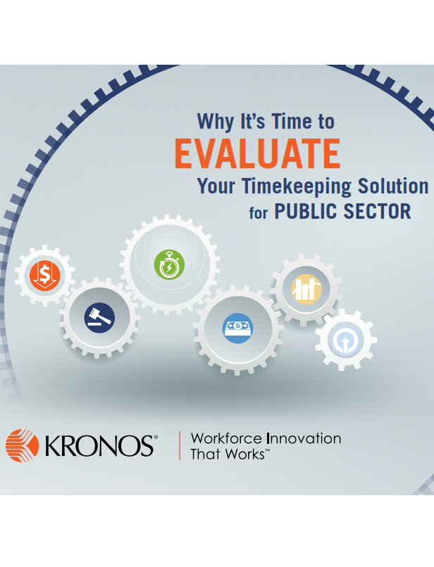 Why It's Time to Evaluate Your Timekeeping Solution for Public Sector
