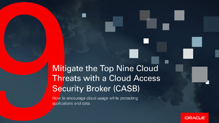 How to Mitigate the Top 9 Cloud Threats with a CASB