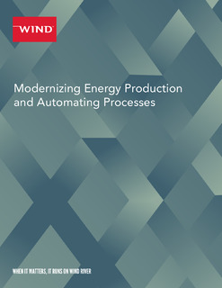 Modernizing Energy Production and Automating Processes
