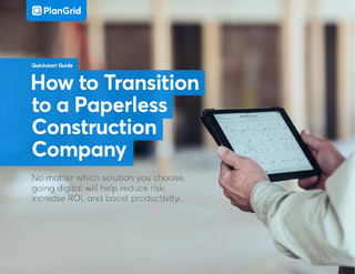 How to Transition to a Paperless Construction Company