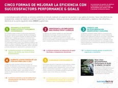 Cinco formas de mejorar la eficiencia conSuccessFactors Performance & Goals