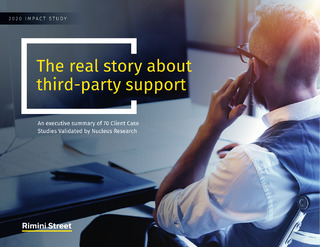 2020 Impact Study — The Real Story About Third-Party Support