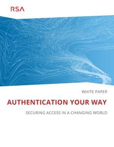 Authentication Your Way