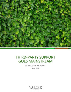 Valoir Report: Third-Party Support Goes Mainstream