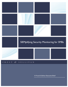 Frost & Sullivan Executive Brief: SIEMplifying Security Monitoring for SMBs
