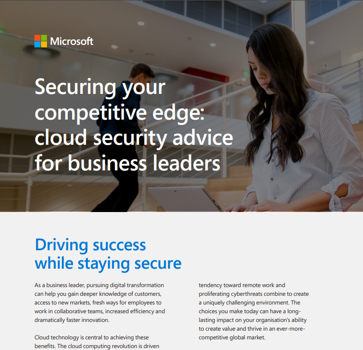 Securing Your Competitive Edge: Cloud Security Advice for Business Leaders