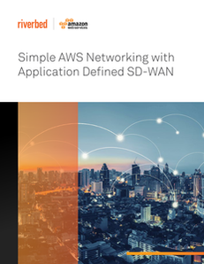 Simple AWS Networking with Application Defined SD-WAN