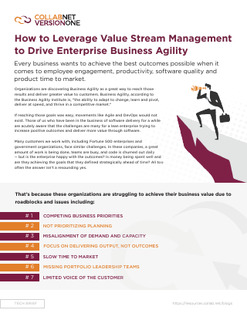 How to Leverage Value Stream Management to Drive Enterprise Business Agility