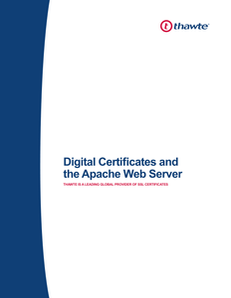 Securing your Apache Web Server with a Thawte Digital Certificate