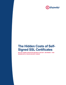 The Hidden Costs of Self-Signed SSL Certificates