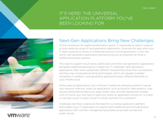 It's Here! The Universal Application Platform You've Been Looking For